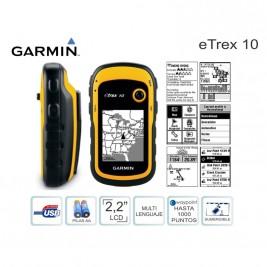 GPS GARMIN ETREX 10 (AMAR